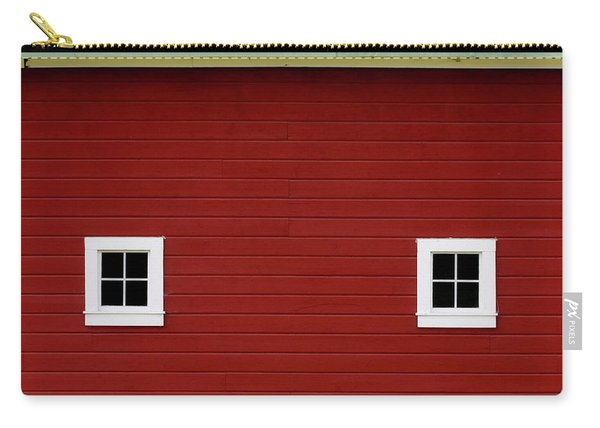 Side Of A Big Red Barn In The Palouse Carry-all Pouch