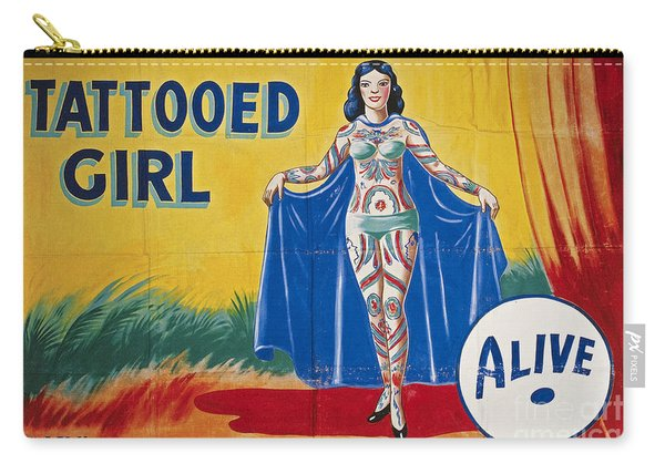 Sideshow Poster, C1955 Carry-all Pouch