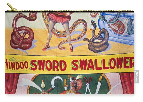 Sideshow Poster, C1975 Carry-all Pouch