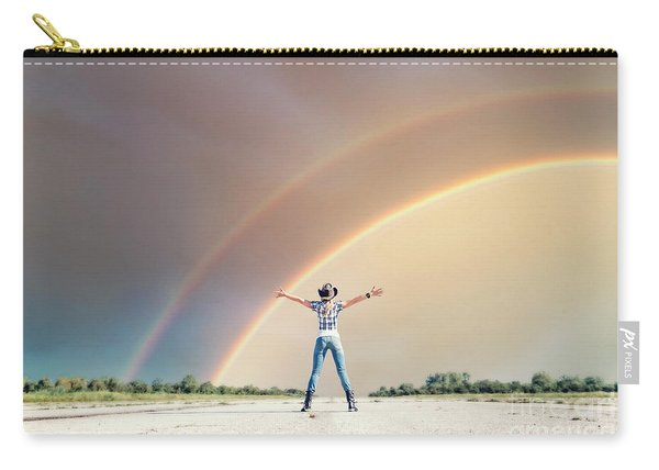 Sing Me A Rainbow Carry-all Pouch