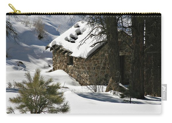 Snow Cabin Carry-all Pouch
