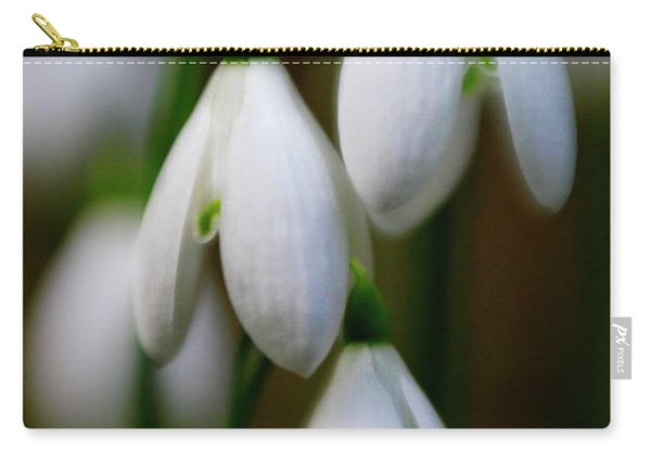 Snowdrops Carry-all Pouch