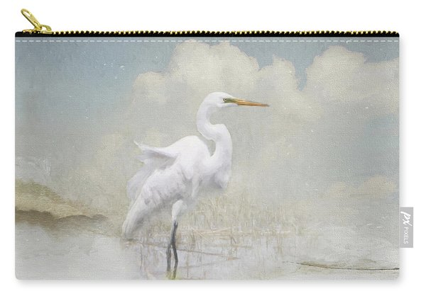 Snowy Egret 2 Carry-all Pouch