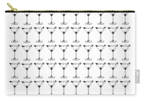 So Many Martinis So Little Time Carry-all Pouch