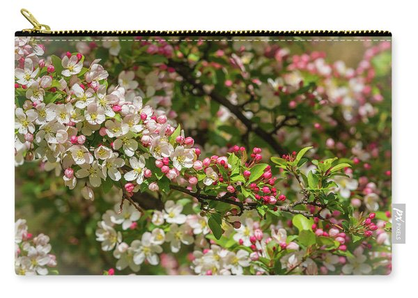 Spring Blossoms Carry-all Pouch
