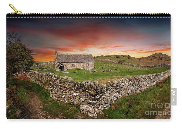 St Celynnin Church Sunset Carry-all Pouch