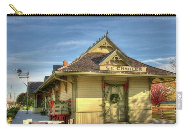 St. Charles Depot Carry-all Pouch