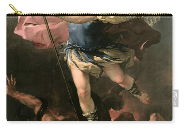 St. Michael Carry-all Pouch