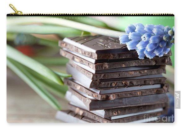 Stack Of Chocolate Carry-all Pouch