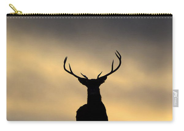 Stag Silhouette  Carry-all Pouch
