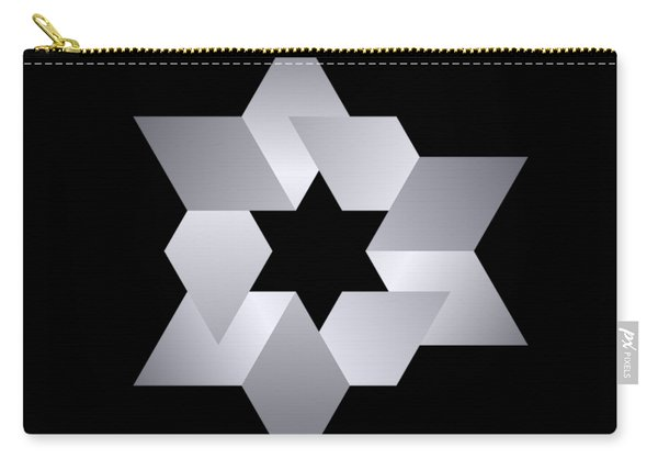 Star From Cubes Carry-all Pouch