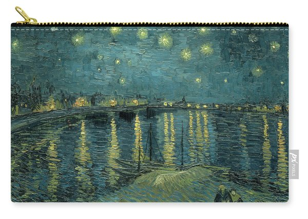 Starry Night Over The Rhone 1888 Carry-all Pouch