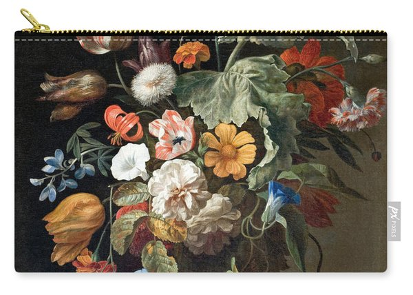 Still-life With Flowers Carry-all Pouch