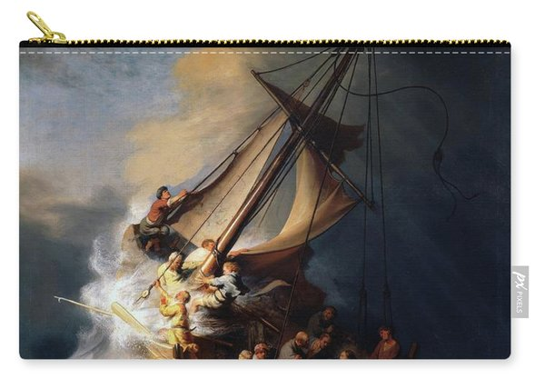 Storm On The Sea Of Galilee Carry-all Pouch