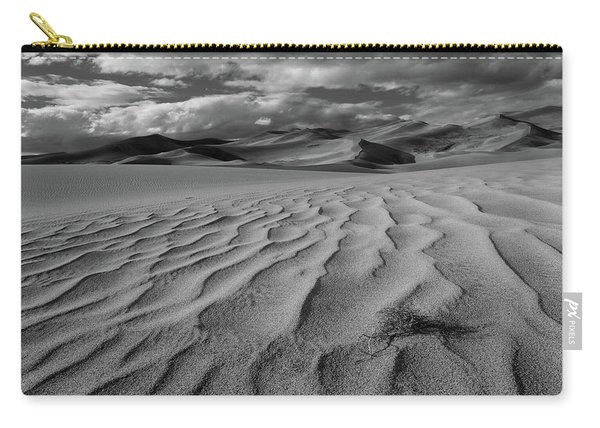 Storm Over Sand Dunes Carry-all Pouch