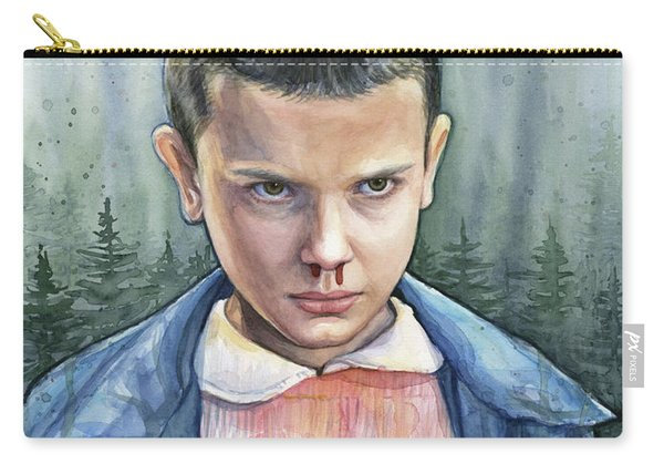 Stranger Things Eleven Portrait Carry-all Pouch