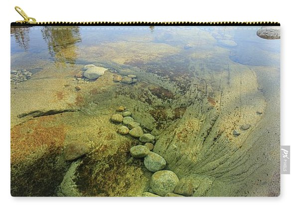 Carry-all Pouch featuring the photograph Stream Dreams by Sean Sarsfield