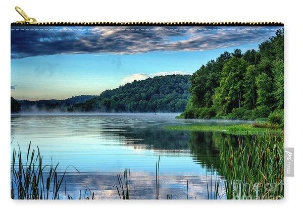 Summer Morning On The Lake Carry-all Pouch