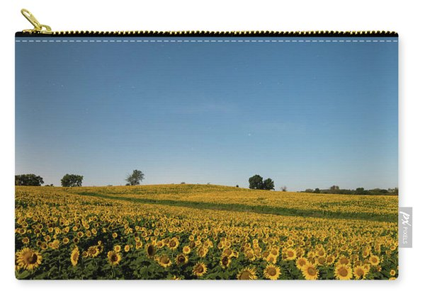 Sunflower Nights Carry-all Pouch