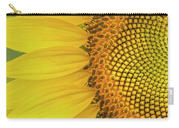 Sunflower Petals Carry-all Pouch