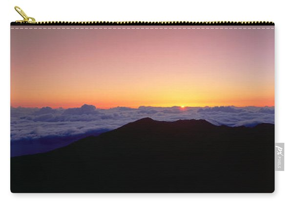 Sunrise Over Haleakala Volcano Summit Carry-all Pouch