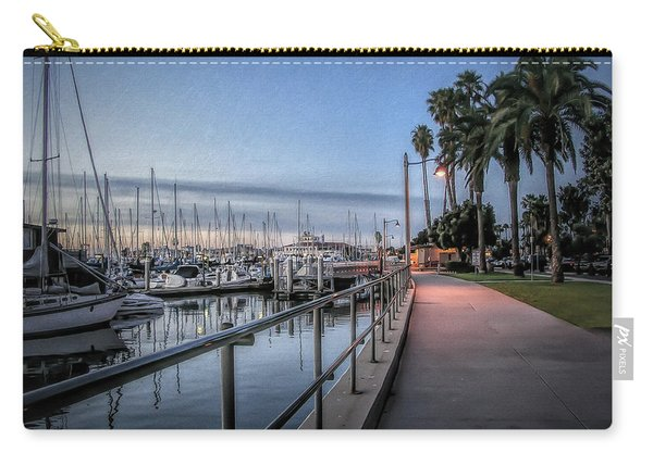 Sunrise Over Santa Barbara Marina Carry-all Pouch
