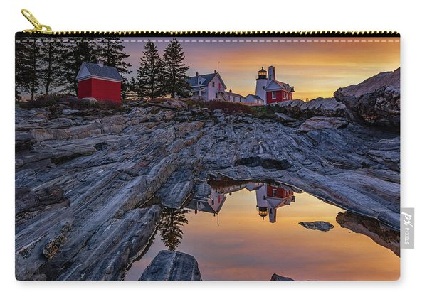 Sunrise At Pemaquid Point II Carry-all Pouch