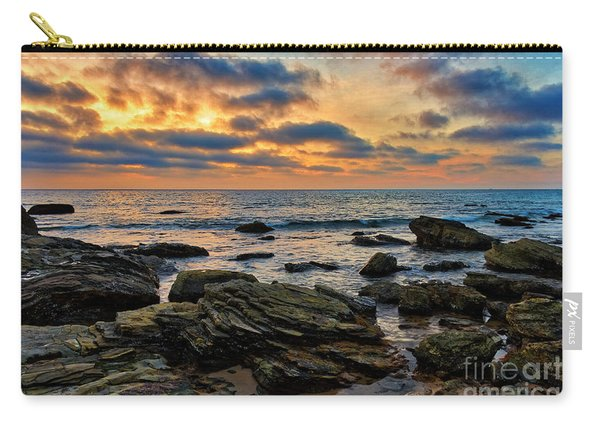 Sunset At Crystal Cove Carry-all Pouch