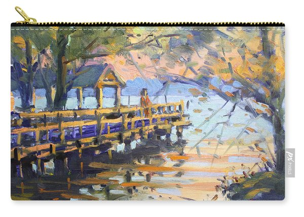 Sunset At Fishermans Park Carry-all Pouch