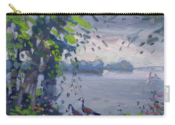 Sunset At Goat Island Carry-all Pouch