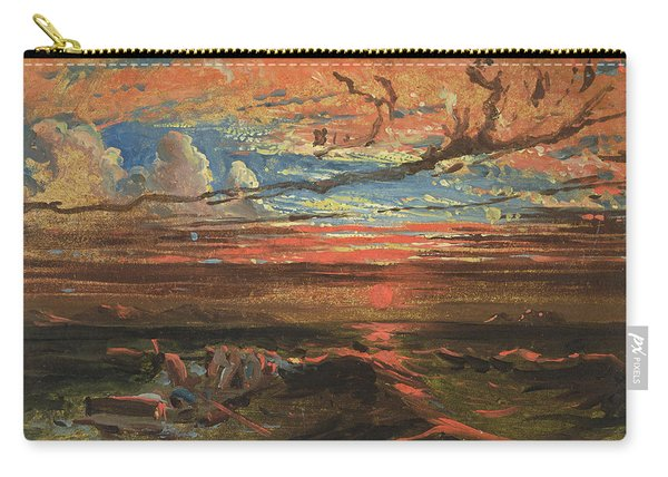 Sunset At Sea After A Storm Carry-all Pouch