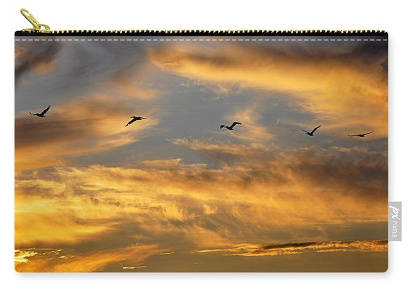 Sunset Flight Carry-all Pouch