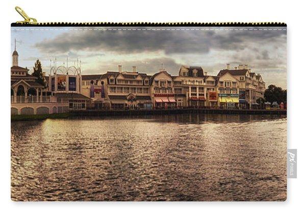 Sunset On The Boardwalk Walt Disney World Mp Carry-all Pouch