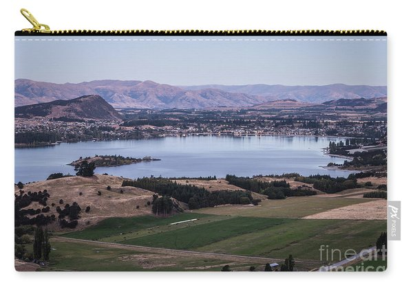 Sunset Over Lake Wanaka In New Zealand Carry-all Pouch