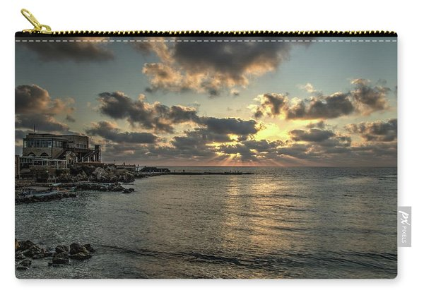 Sunset Over The Mediterranean Carry-all Pouch