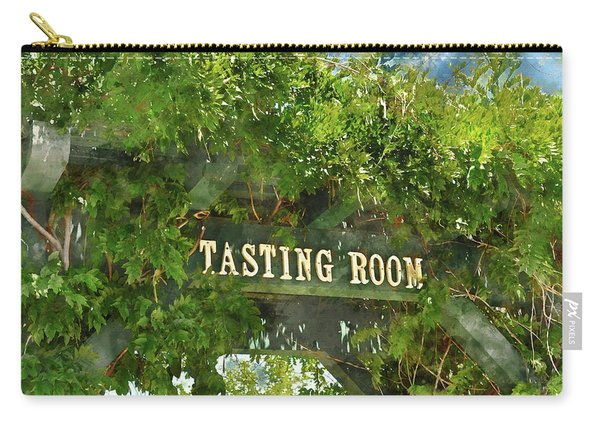 Tasting Room Sign Carry-all Pouch