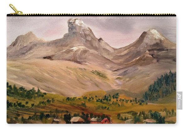 Tetons From The West Carry-all Pouch