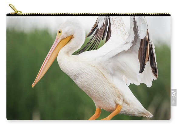 The Amazing American White Pelican  Carry-all Pouch