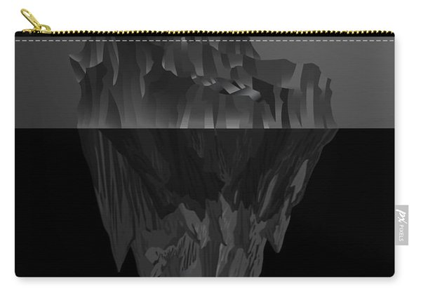 The Black Iceberg Carry-all Pouch