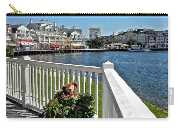The Boardwalk At Walt Disney World Mp Carry-all Pouch