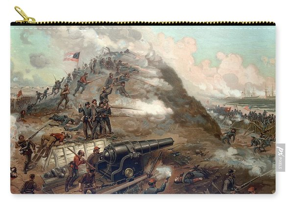 The Capture Of Fort Fisher Carry-all Pouch