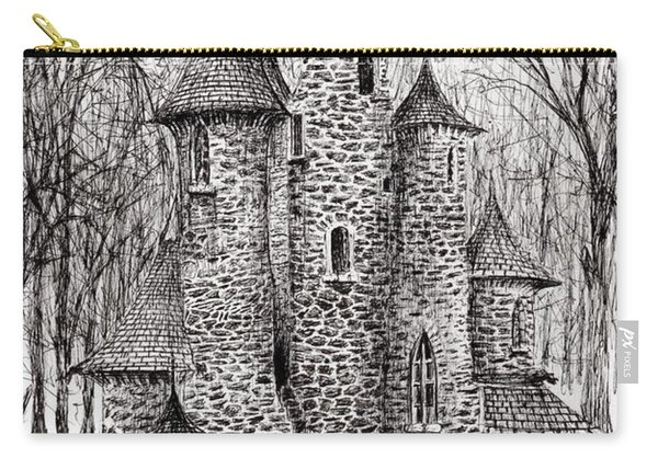 The Castle In The Forest Of Findhorn Carry-all Pouch