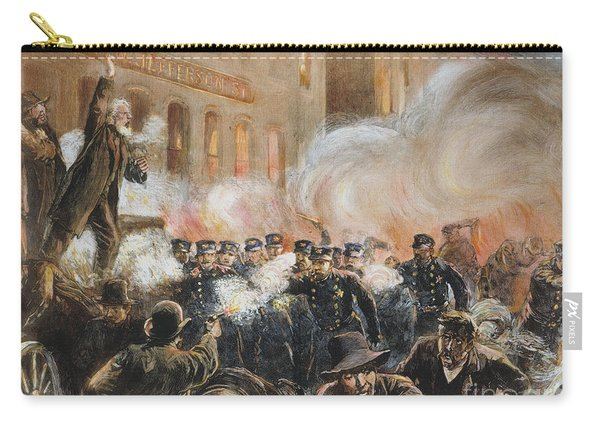 The Haymarket Riot, 1886 Carry-all Pouch