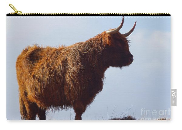 The Highland Cow Carry-all Pouch