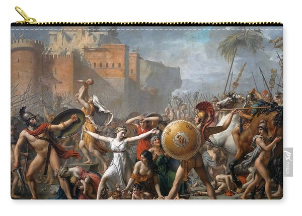 The Intervention Of The Sabine Women Carry-all Pouch