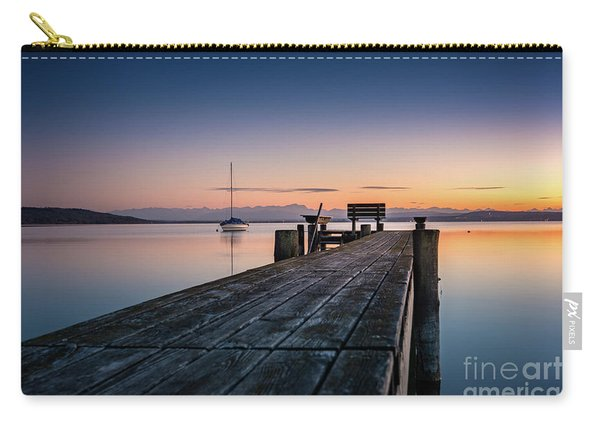 The Jetty To Sunset Carry-all Pouch