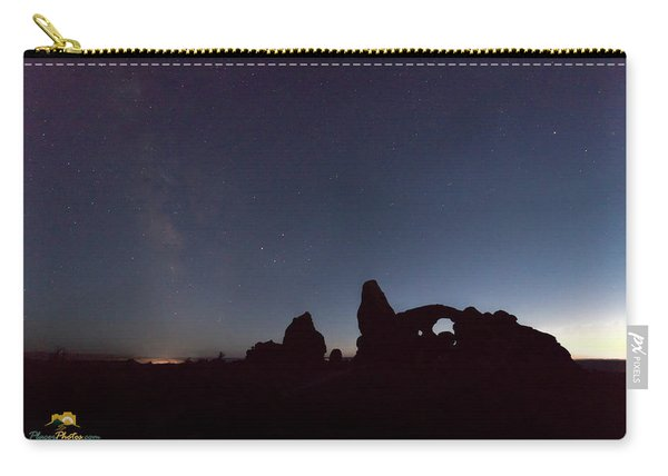 Carry-all Pouch featuring the photograph The Milky Way by Jim Thompson