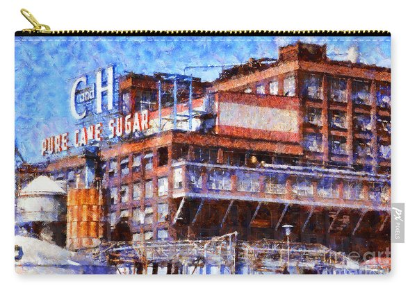 The Old C And H Pure Cane Sugar Plant In Crockett California . 5d16769 Carry-all Pouch