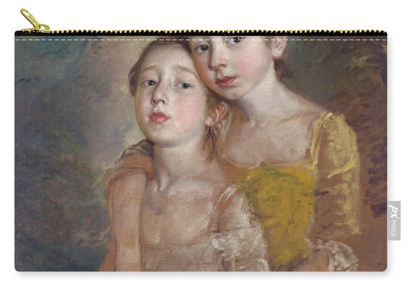The Painter's Daughters With A Cat Carry-all Pouch