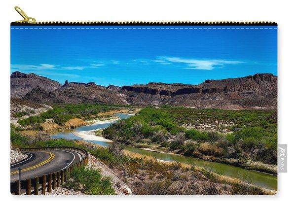 The Rio Grande River Carry-all Pouch
